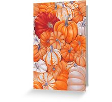 gourd patch Greeting Card