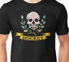 Hockey Skull Unisex T-Shirt