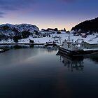 Fjord Dawn by fg-ottico