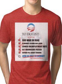 Obama Accomplishments Tee Tri-blend T-Shirt