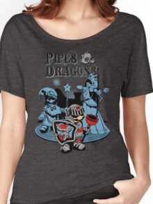 PIPES & DRAGONS Women's Relaxed Fit T-Shirt