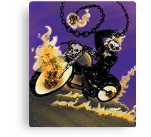 ghost rider  Canvas Print