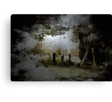 The Monk's Abode Canvas Print
