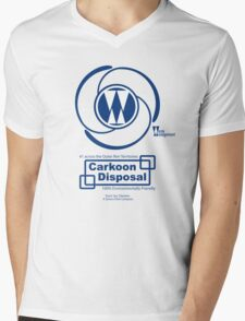 Carkoon Disposal Mens V-Neck T-Shirt