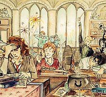 Hogwarts by cms-arts