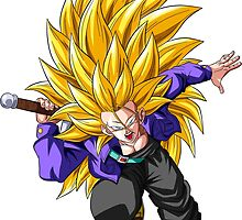Trunks Super Saiyan 3 - Dragon Ball Z by AnimeStuff