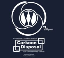 Carkoon Disposal (white) by Malc Foy