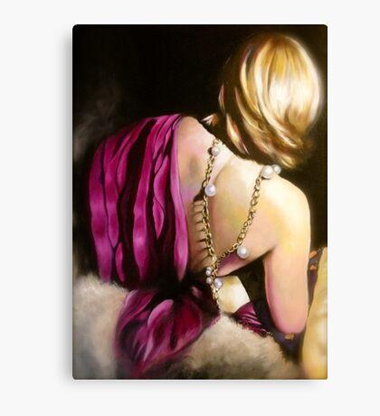 Les Epaules Sont Belle Canvas Print
