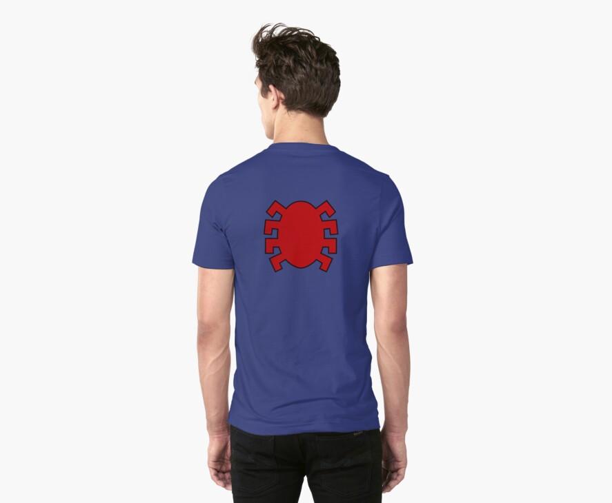Spider-Man logo back by WildSaber