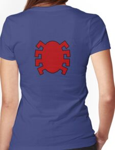 Spider-Man logo back Womens Fitted T-Shirt