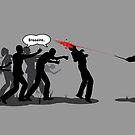 Harry Potter VS Zombies by tombst0ne