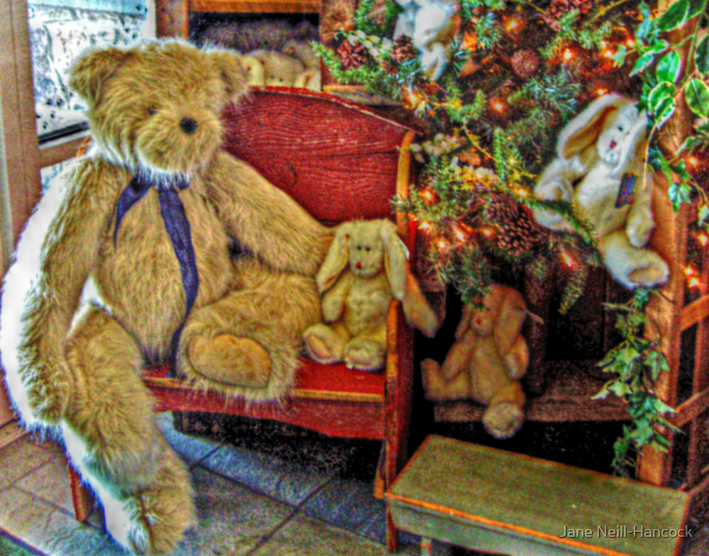 Every Teddy Needs A Bunny For Christmas by Jane Neill-Hancock