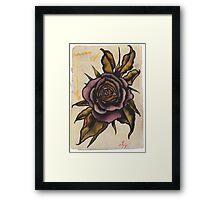 violet rose Framed Print