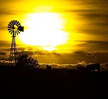 Midwest sunset by Jonathon Vasquez