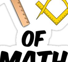 Choose Your Weapon of Math Destruction Sticker