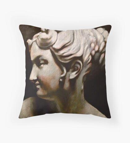 The Beauty Cast Throw Pillow