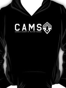 CAMS Light Logo and Name T-Shirt