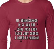 Drive-By Window Long Sleeve T-Shirt