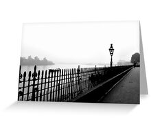 Fog on the Thames Greeting Card