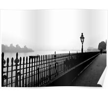 Fog on the Thames Poster