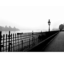 Fog on the Thames Photographic Print