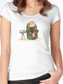My Life in a Nutshell Women's Fitted Scoop T-Shirt