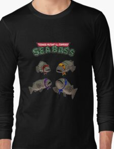 Teenage Mutant Ill-Tempered Sea Bass Long Sleeve T-Shirt