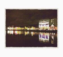 Moonlit night on Merchant´s Quay 001 One Piece - Long Sleeve
