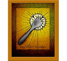 The Holy Spork Photographic Print