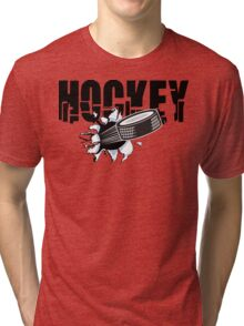 Hockey Tri-blend T-Shirt