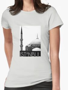 Istanbul_the unseen Womens Fitted T-Shirt