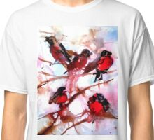 Robins in the Snow Classic T-Shirt