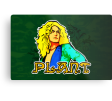 Robert Plant (Print Version) Metal Print