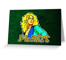 Robert Plant (Print Version) Greeting Card