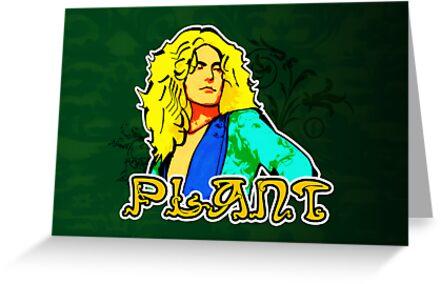 Robert Plant (Print Version) by Rodrigo Marckezini