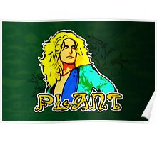 Robert Plant (Print Version) Poster