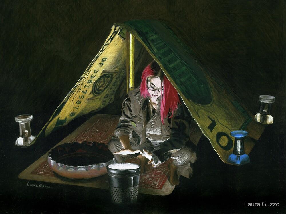 Homeless Thumbelina by Laura Guzzo