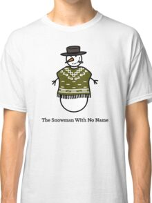 The Snowman With No Name Classic T-Shirt