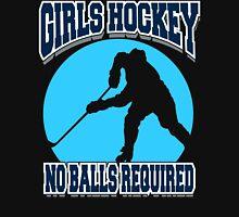 Girls Hockey Womens Fitted T-Shirt