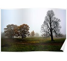 Autumn Landscape -- Waterford,  Maine Poster