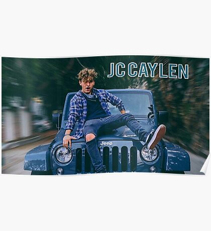 Jc Caylen Jeep Poster