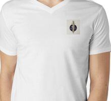 Sword and Lavender Mens V-Neck T-Shirt