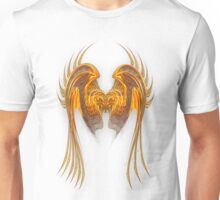Gold Wire Wings Unisex T-Shirt