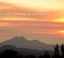 Sunsets Are Gateways  by wisdomwords