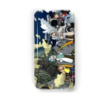 Back to the Future - Rick and Morty Samsung Galaxy Case/Skin