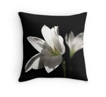 Another White Rain Lily Throw Pillow