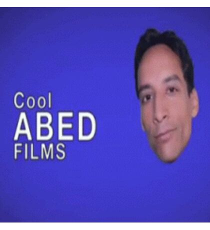 Cool Abed Films Sticker