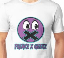 FREAKS AND GEEKS BLUE X PURPLE Unisex T-Shirt