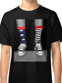 Patriotic Socks Classic T-Shirt
