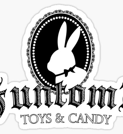 Funtom's Toys and Candy Sticker